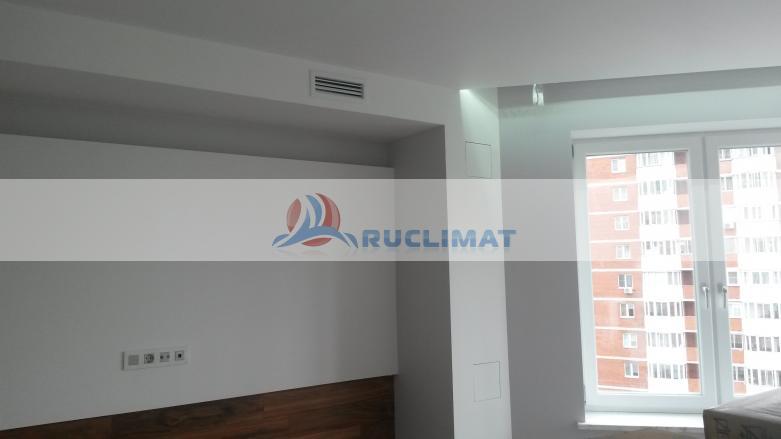 Приточно-вытяжная вентиляция в квартире