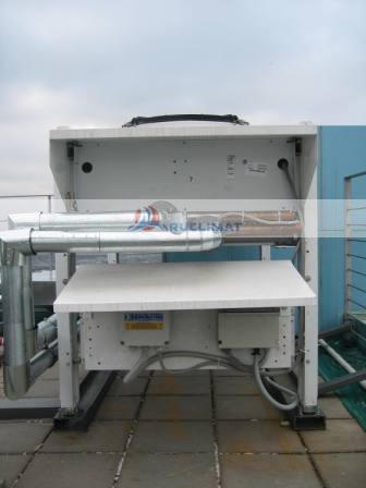 Подведение труб от насосной станции к градирням
