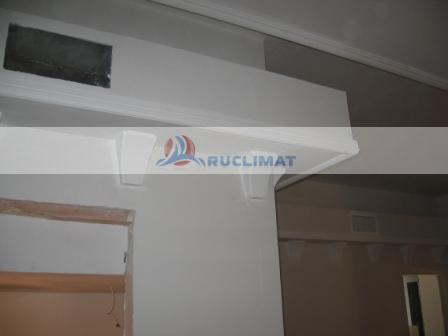 Монтаж канального кондиционера в 2-х уровневой квартире