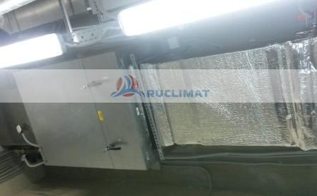 Монтаж приточной установки Systemair TA-3000 HW