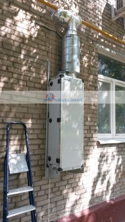 Приточная установка Ventmachine ПВУ 500