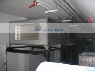 Монтаж приточной установки Danvent(Systemair) DV-25